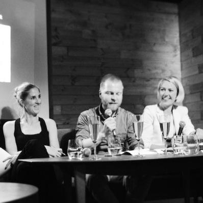 Hedda Høiness fra Kari Traa, John Vinnem fra Johnny Love og Stina Clarsen fra Spalt PR
