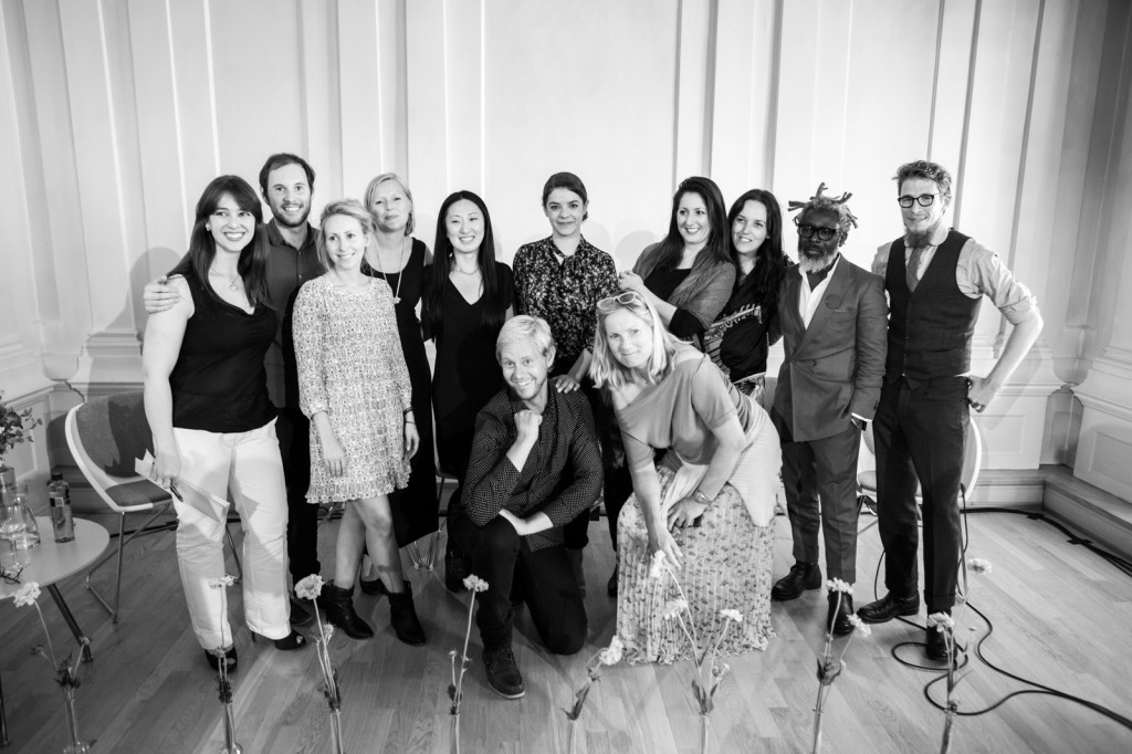 From left: Amanda Bloise, Guilherme Wortmann, Jorun Sofie F. Aartun, Nora Krogh, Siw Andersen, Gisle Mardal, Lorena Botti, Tone Skårdal Tobiasson, Cristiane Azevedo, Lígia Krás, T-Michael and Alexander Helle. (Tine Mollatt was unfortunately not present when the photo was taken)