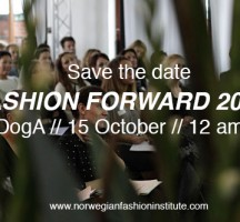 Save the date: Fashion Forward 2013 på DogA tirsdag 15. oktober